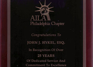 In Recognition of Dedicated Service…